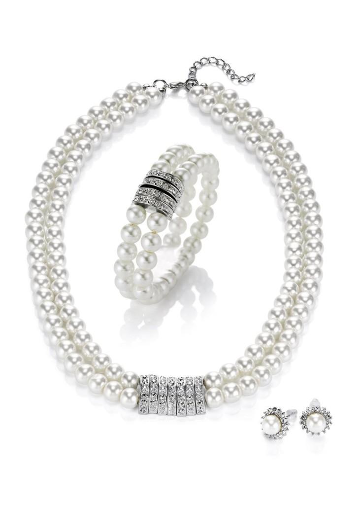 Perłowa biżuteria - BonPrix