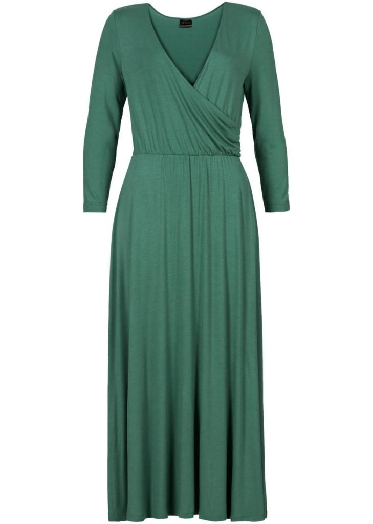 Sukienka zielona - BonPrix
