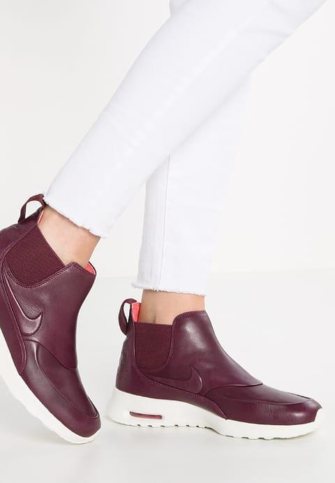 Nike SportswearAIR MAX THEA - Ankle boot - night maroon/sail - ZALANDO.PL